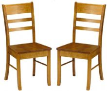 Pair of Conway Pine Dining Chairs